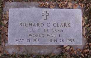 CLARK, RICHARD C - Moody County, South Dakota | RICHARD C CLARK - South Dakota Gravestone Photos