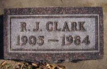 CLARK, R.J. - Moody County, South Dakota | R.J. CLARK - South Dakota Gravestone Photos
