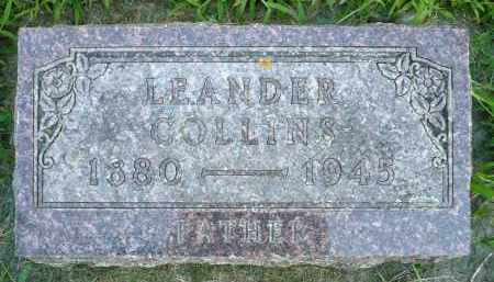 COLLINS, LEANDER - Moody County, South Dakota | LEANDER COLLINS - South Dakota Gravestone Photos