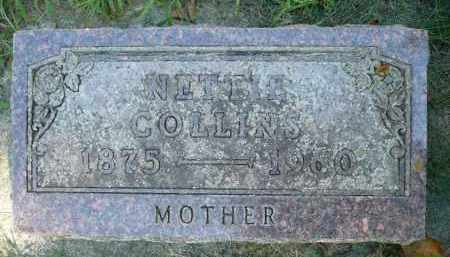 COLLINS, NETTIE - Moody County, South Dakota | NETTIE COLLINS - South Dakota Gravestone Photos