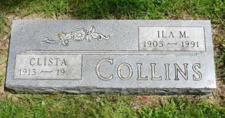 COLLINS, CLISTA - Moody County, South Dakota | CLISTA COLLINS - South Dakota Gravestone Photos