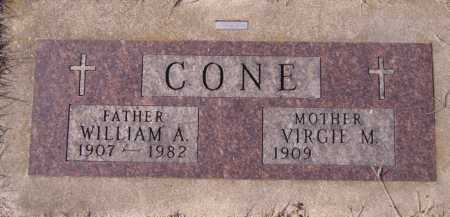 CONE, WILLIAM A - Moody County, South Dakota | WILLIAM A CONE - South Dakota Gravestone Photos