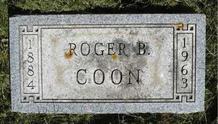 COON, ROGER B. - Moody County, South Dakota | ROGER B. COON - South Dakota Gravestone Photos