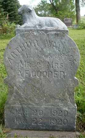 COOPER, ARTHUR WALLACE - Moody County, South Dakota | ARTHUR WALLACE COOPER - South Dakota Gravestone Photos