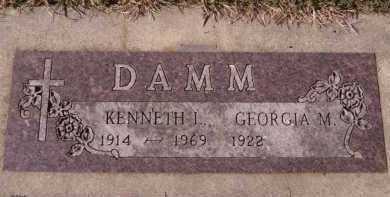 DAMM, GEORGIA M - Moody County, South Dakota | GEORGIA M DAMM - South Dakota Gravestone Photos