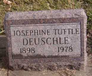 DEUSCHLE, JOSEPHINE TUTTLE - Moody County, South Dakota | JOSEPHINE TUTTLE DEUSCHLE - South Dakota Gravestone Photos