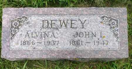 DEWEY, ALVINA - Moody County, South Dakota | ALVINA DEWEY - South Dakota Gravestone Photos