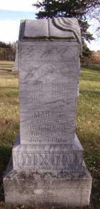 DIXON, MARY J - Moody County, South Dakota | MARY J DIXON - South Dakota Gravestone Photos