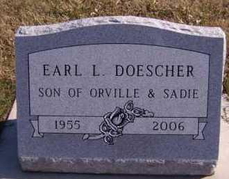 DOESCHER, EARL L - Moody County, South Dakota | EARL L DOESCHER - South Dakota Gravestone Photos