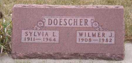 LORENTSON DOESCHER, SYLVIA A - Moody County, South Dakota | SYLVIA A LORENTSON DOESCHER - South Dakota Gravestone Photos