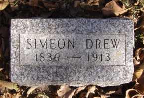 DREW, SIMEON - Moody County, South Dakota | SIMEON DREW - South Dakota Gravestone Photos