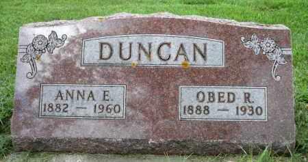 DUNCAN, OBED R. - Moody County, South Dakota | OBED R. DUNCAN - South Dakota Gravestone Photos