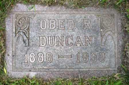 DUNCAN, OBED R. - Moody County, South Dakota   OBED R. DUNCAN - South Dakota Gravestone Photos