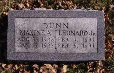 DUNN, LEONARD JR - Moody County, South Dakota | LEONARD JR DUNN - South Dakota Gravestone Photos