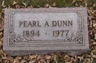 DUNN, PEARL A - Moody County, South Dakota | PEARL A DUNN - South Dakota Gravestone Photos