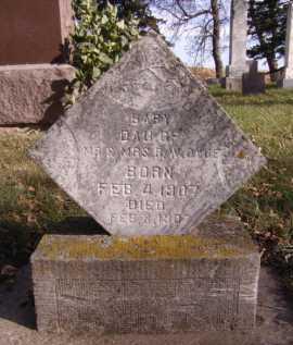 DYCE, BABY DAUGHTER - Moody County, South Dakota | BABY DAUGHTER DYCE - South Dakota Gravestone Photos