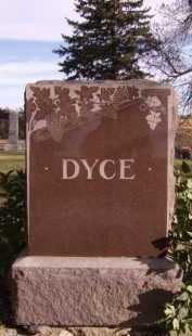 DYCE, FAMILY - Moody County, South Dakota | FAMILY DYCE - South Dakota Gravestone Photos
