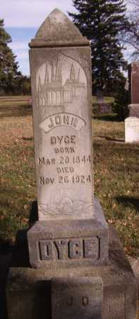 DYCE, JOHN - Moody County, South Dakota | JOHN DYCE - South Dakota Gravestone Photos
