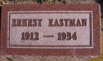 EASTMAN, ERNEST - Moody County, South Dakota | ERNEST EASTMAN - South Dakota Gravestone Photos