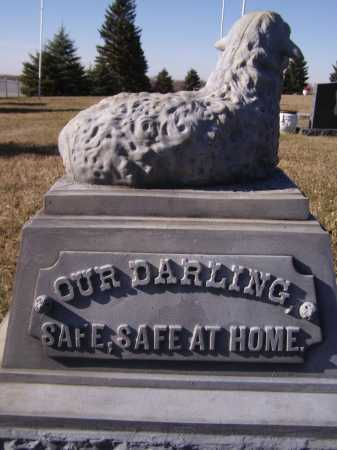 EGGEBROATEN, IDA B (BACK) - Moody County, South Dakota | IDA B (BACK) EGGEBROATEN - South Dakota Gravestone Photos
