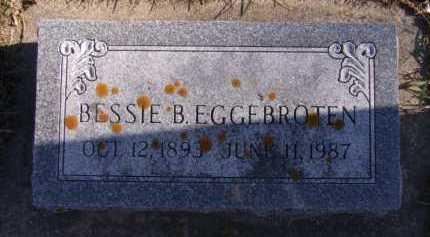 EGGEBROTEN, BESSIE B - Moody County, South Dakota | BESSIE B EGGEBROTEN - South Dakota Gravestone Photos