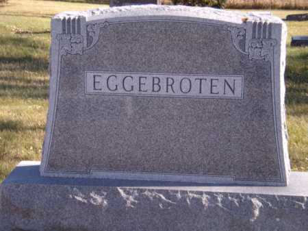 EGGEBROTEN, FAMILY - Moody County, South Dakota | FAMILY EGGEBROTEN - South Dakota Gravestone Photos