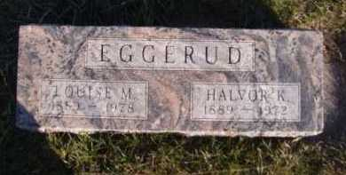 EGGERUD, HALVOR K - Moody County, South Dakota | HALVOR K EGGERUD - South Dakota Gravestone Photos