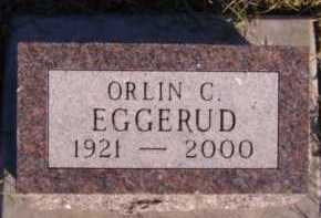 EGGERUD, ORLIN C - Moody County, South Dakota | ORLIN C EGGERUD - South Dakota Gravestone Photos