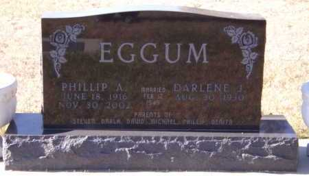 EGGUM, DARLENE J - Moody County, South Dakota | DARLENE J EGGUM - South Dakota Gravestone Photos