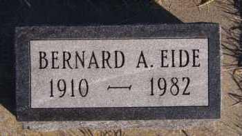 EIDE, BERNARD A - Moody County, South Dakota | BERNARD A EIDE - South Dakota Gravestone Photos