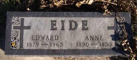 EIDE, EDWARD - Moody County, South Dakota | EDWARD EIDE - South Dakota Gravestone Photos