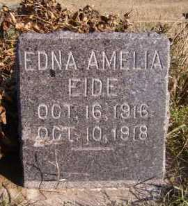 EIDE, EDNA AMELIA - Moody County, South Dakota | EDNA AMELIA EIDE - South Dakota Gravestone Photos