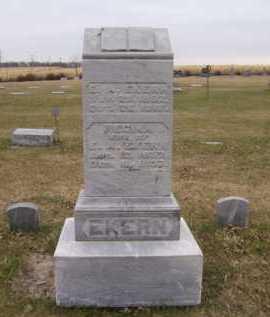 EKERN, REGINE - Moody County, South Dakota | REGINE EKERN - South Dakota Gravestone Photos