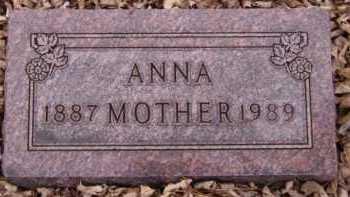ELLEFSON, ANNA - Moody County, South Dakota | ANNA ELLEFSON - South Dakota Gravestone Photos