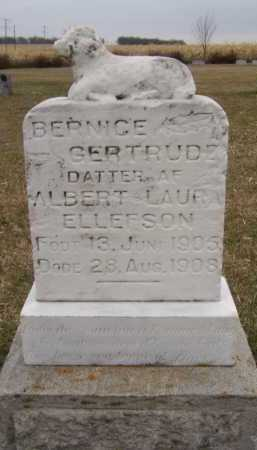 ELLEFSON, BERNICE GERTRUDE - Moody County, South Dakota | BERNICE GERTRUDE ELLEFSON - South Dakota Gravestone Photos