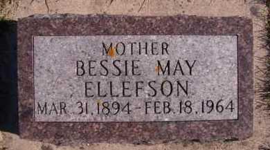 ELLEFSON, BESSIE MAY - Moody County, South Dakota | BESSIE MAY ELLEFSON - South Dakota Gravestone Photos
