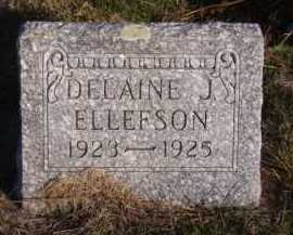 ELLEFSON, DELAINE J - Moody County, South Dakota | DELAINE J ELLEFSON - South Dakota Gravestone Photos