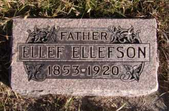 ELLEFSON, ELLEF - Moody County, South Dakota   ELLEF ELLEFSON - South Dakota Gravestone Photos