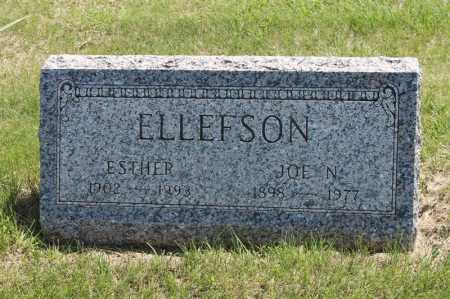 ELLEFSON, JOE N - Moody County, South Dakota | JOE N ELLEFSON - South Dakota Gravestone Photos