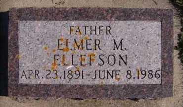 ELLEFSON, ELMER M - Moody County, South Dakota   ELMER M ELLEFSON - South Dakota Gravestone Photos