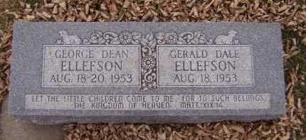 ELLEFSON, GERALD DALE - Moody County, South Dakota | GERALD DALE ELLEFSON - South Dakota Gravestone Photos