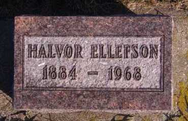 ELLEFSON, HALVOR - Moody County, South Dakota   HALVOR ELLEFSON - South Dakota Gravestone Photos