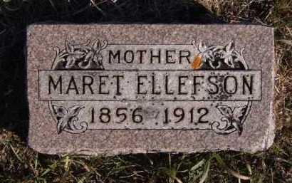ELLEFSON, MARET - Moody County, South Dakota | MARET ELLEFSON - South Dakota Gravestone Photos