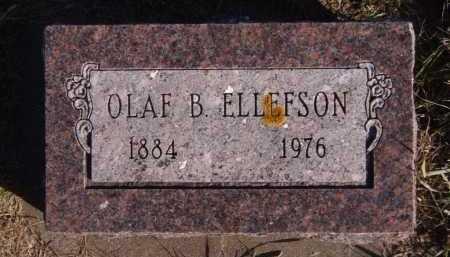 ELLEFSON, OLAF B - Moody County, South Dakota | OLAF B ELLEFSON - South Dakota Gravestone Photos