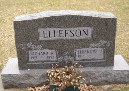 ELLEFSON, RICHARD A - Moody County, South Dakota   RICHARD A ELLEFSON - South Dakota Gravestone Photos