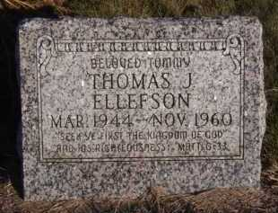 ELLEFSON, THOMAS J - Moody County, South Dakota | THOMAS J ELLEFSON - South Dakota Gravestone Photos