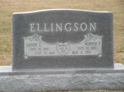 ELLINGSON, ANTON S - Moody County, South Dakota | ANTON S ELLINGSON - South Dakota Gravestone Photos