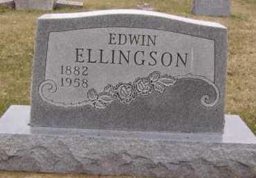 ELLINGSON, EDWIN - Moody County, South Dakota | EDWIN ELLINGSON - South Dakota Gravestone Photos