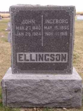 ELLINGSON, JOHN - Moody County, South Dakota | JOHN ELLINGSON - South Dakota Gravestone Photos