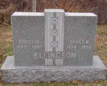 FRANKLIN ELLINGSON, GRACE M - Moody County, South Dakota | GRACE M FRANKLIN ELLINGSON - South Dakota Gravestone Photos